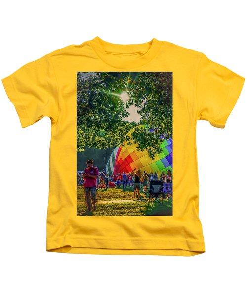 Balloon Fest Spirit Kids T-Shirt