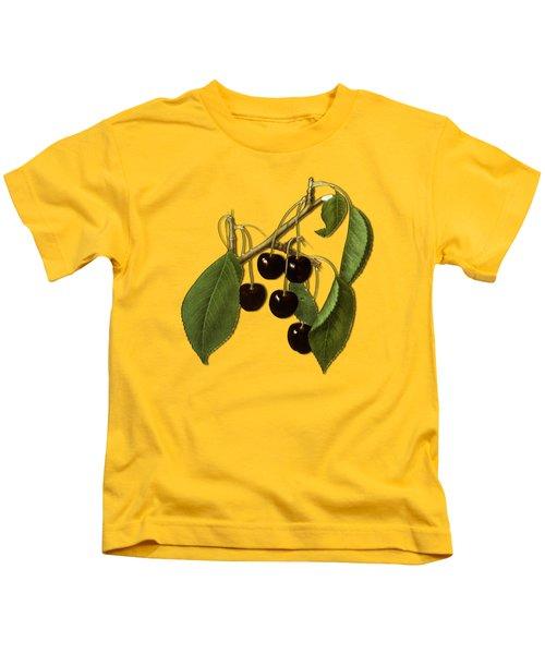 Black Cherries Kids T-Shirt