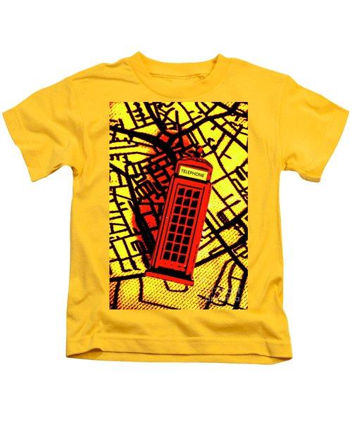 Brit Phone Box Kids T-Shirt