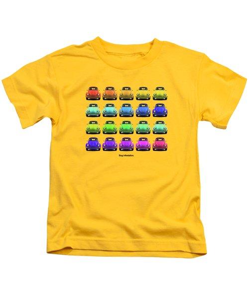 Bug Infestation. Kids T-Shirt