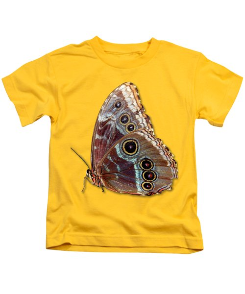Butterfly Macro Kids T-Shirt