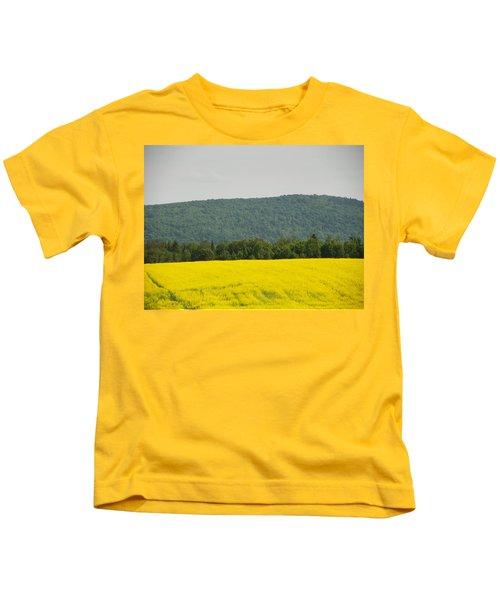 Canola Field Kids T-Shirt