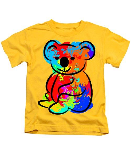 Colorful Koala Kids T-Shirt