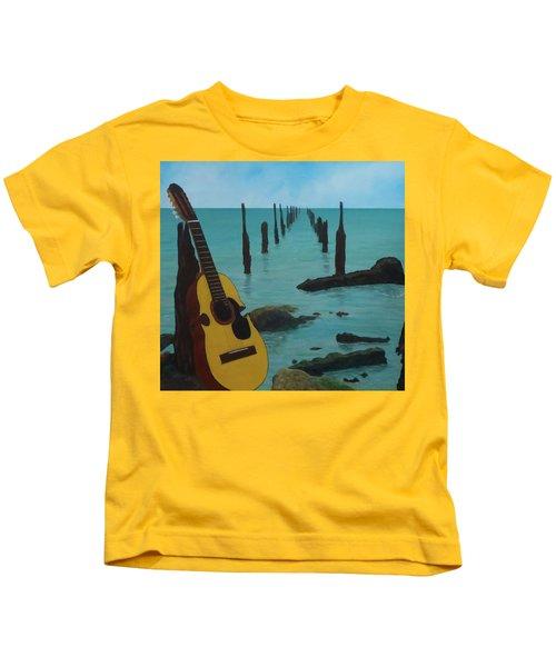 Cuatro Seascape Kids T-Shirt