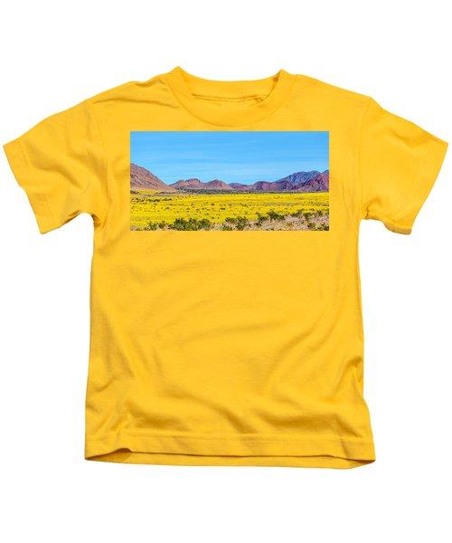 Death Valley Super Bloom 2016 Kids T-Shirt