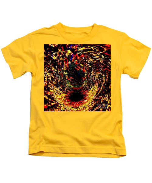 Disable Abstract Planet Kids T-Shirt