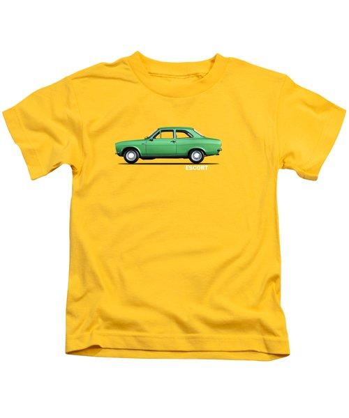 Escort Mark 1 1968 Kids T-Shirt by Mark Rogan