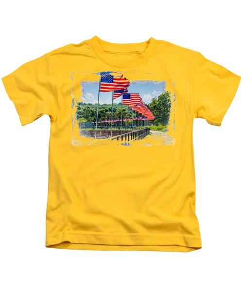 Flag Walk Kids T-Shirt