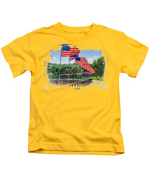 Flag Walk Kids T-Shirt