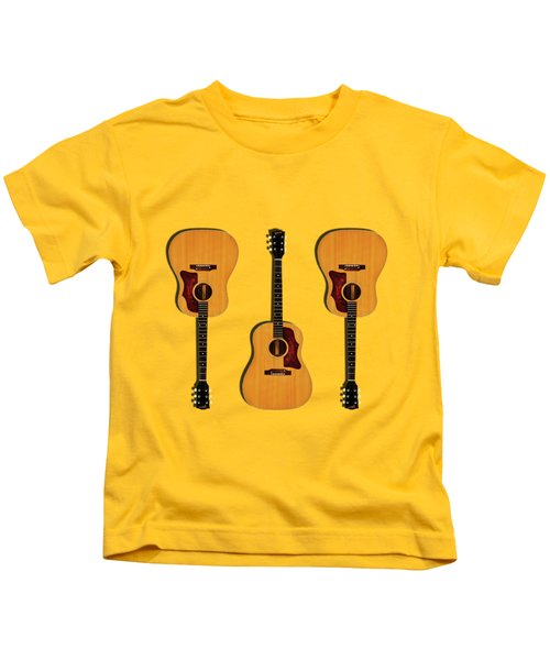 Gibson J-50 1967 Kids T-Shirt by Mark Rogan
