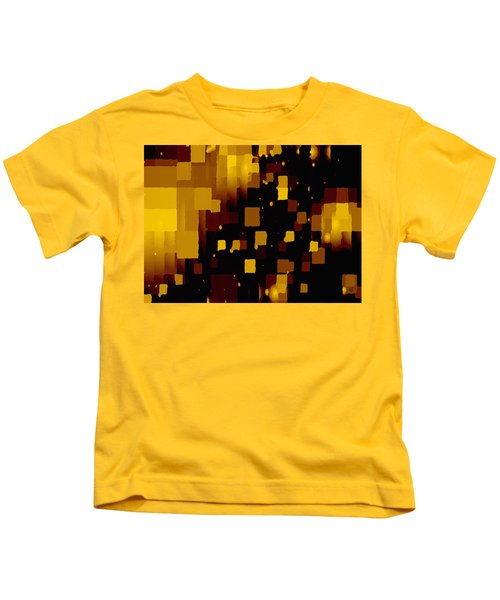 Golden Light And Dark  Kids T-Shirt