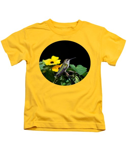 Green Garden Jewel Kids T-Shirt