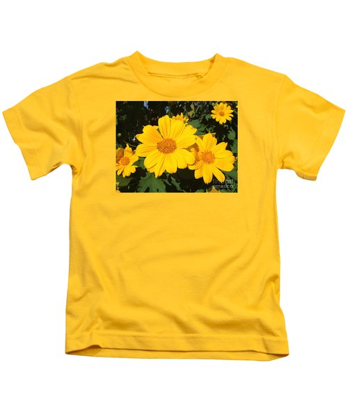 Happy Yellow Kids T-Shirt