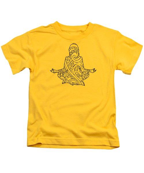 Henna Meditation Kids T-Shirt