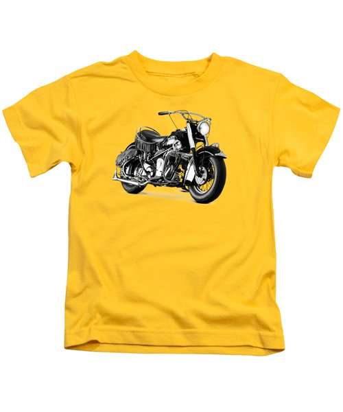 Indian Chief Roadmaster 1953 Kids T-Shirt