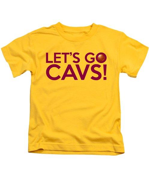 Let's Go Cavs Kids T-Shirt