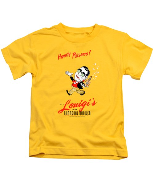 Louigis Las Vegas 1960 Kids T-Shirt