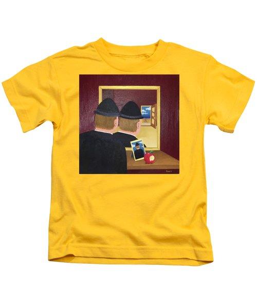 Man In The Mirror Kids T-Shirt