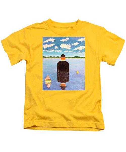 No Man Is An Island Kids T-Shirt