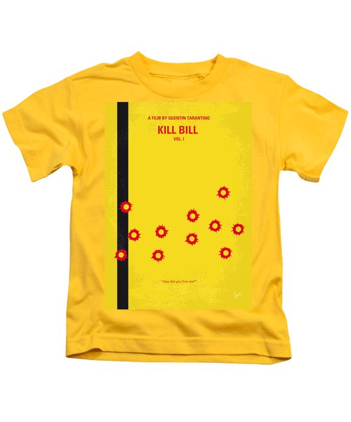 No048 My Kill Bill -part 1 Minimal Movie Poster Kids T-Shirt