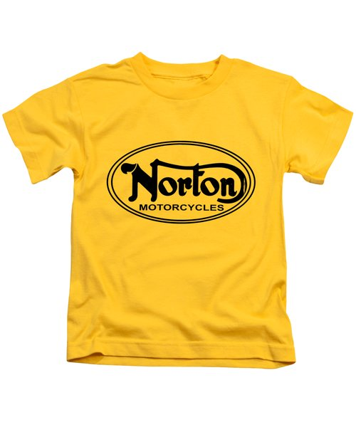 Norton Motorcycles Kids T-Shirt
