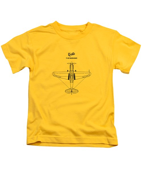 P-40 Warhawk Kids T-Shirt