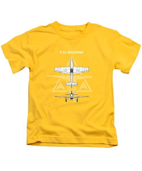 P-51 Mustang Kids T-Shirt