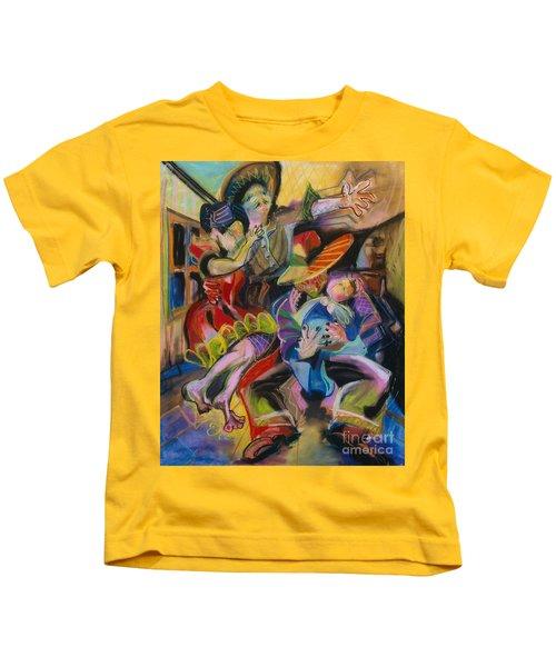 Papa And Bambino Kids T-Shirt