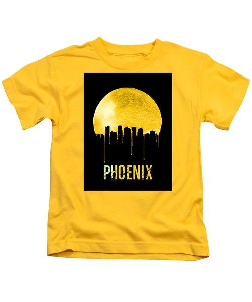 Phoenix Skyline Yellow Kids T-Shirt