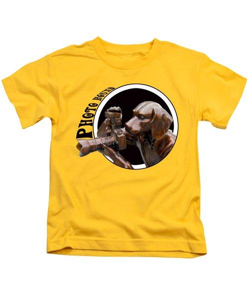 Photo Hound Kids T-Shirt