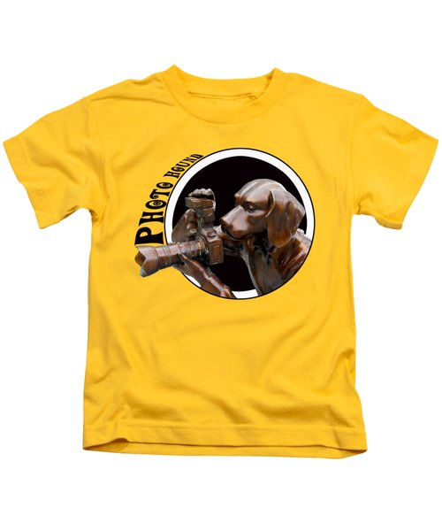 Photo Hound Kids T-Shirt
