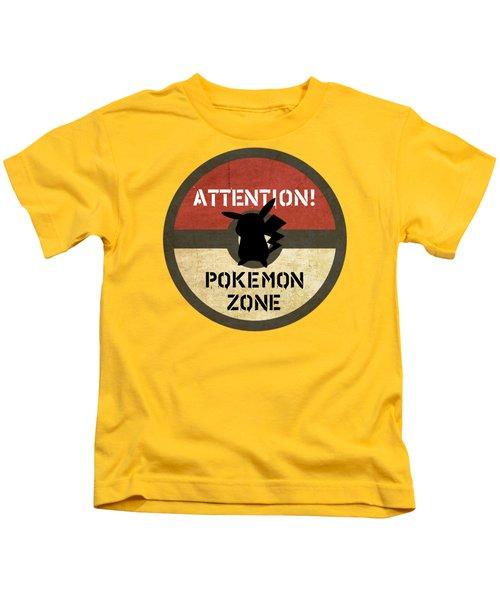 Pokemon Zone 3 Kids T-Shirt