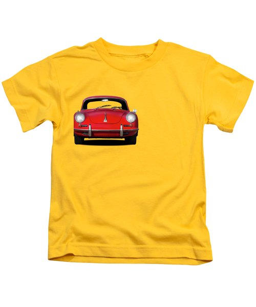 Porsche 356 Kids T-Shirt by Mark Rogan