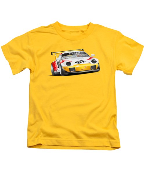 Porsche 911 Turbo Custom Kids T-Shirt