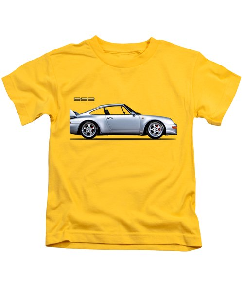 Porsche 993 Kids T-Shirt by Mark Rogan