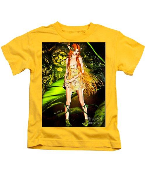 Redhead Forest Pixie Kids T-Shirt