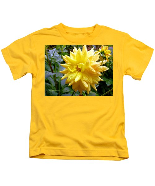 Refreshed Dahlia  Kids T-Shirt