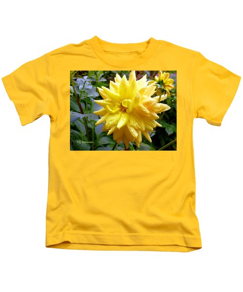 Refreshed Dahlia  Kids T-Shirt