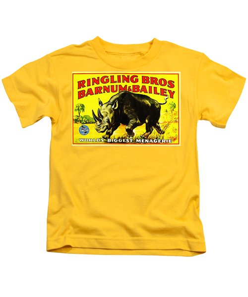 Ringling Brothers Barnum And Bailey Circus Kids T-Shirt