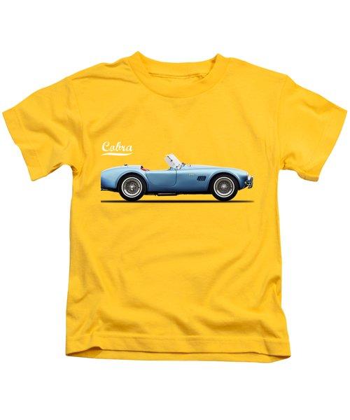 Shelby Cobra 289 1964 Kids T-Shirt by Mark Rogan