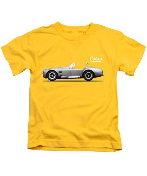 Shelby Cobra 427 Sc 1965 Kids T-Shirt by Mark Rogan