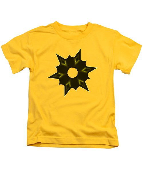 Star Record No. 5 Kids T-Shirt by Stephanie Brock