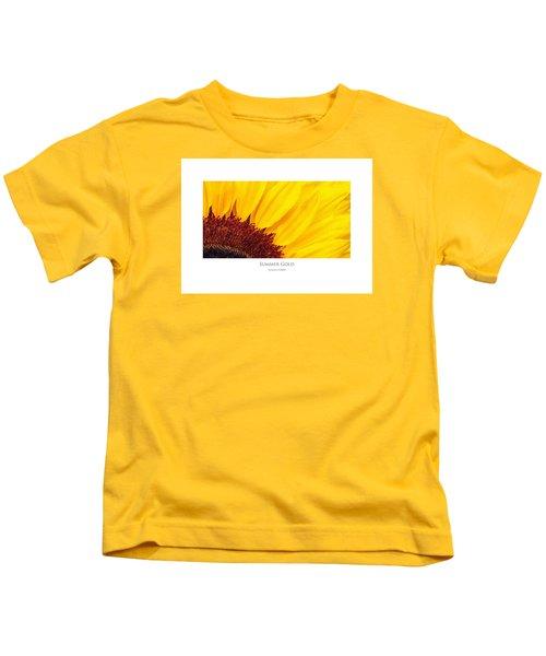 Summer Gold Kids T-Shirt