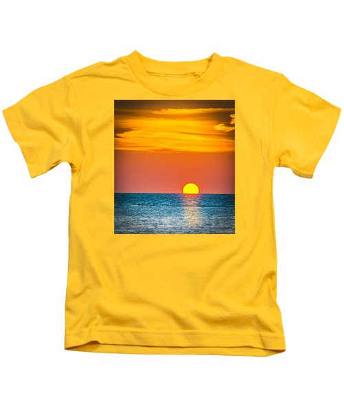 Sunbathing Kids T-Shirt