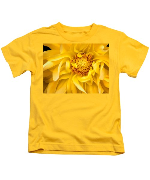 Sunflower Yellow Kids T-Shirt
