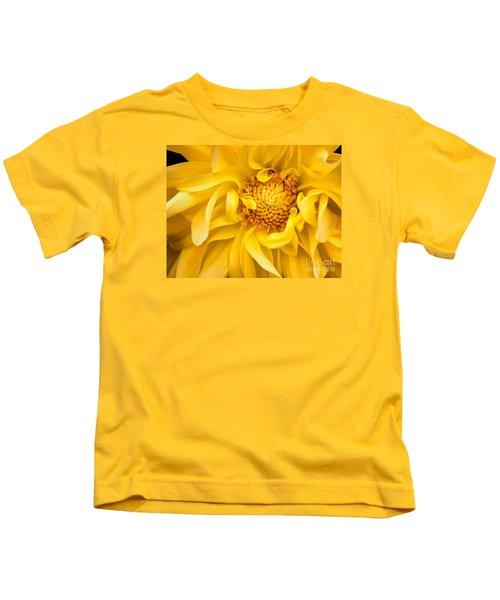 Sunflower Yellow Kids T-Shirt