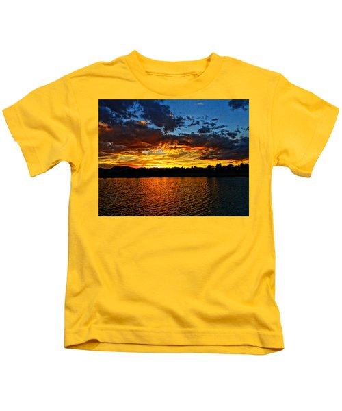 Sweet End Of Day Kids T-Shirt