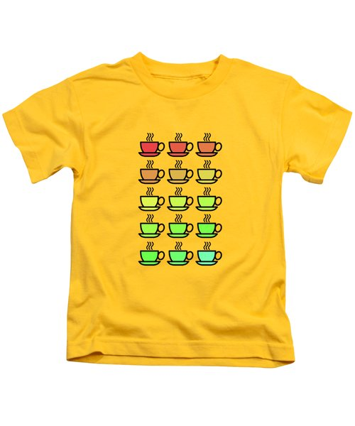 Tea Cups Kids T-Shirt