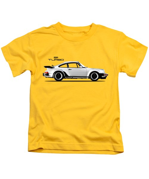 The 911 Turbo 1984 Kids T-Shirt by Mark Rogan