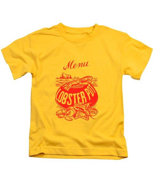 The Lobster Pot 1960s Kids T-Shirt